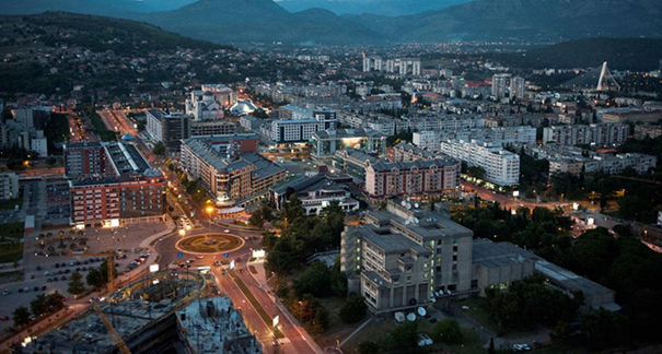 Capital of this small state is Podgorica