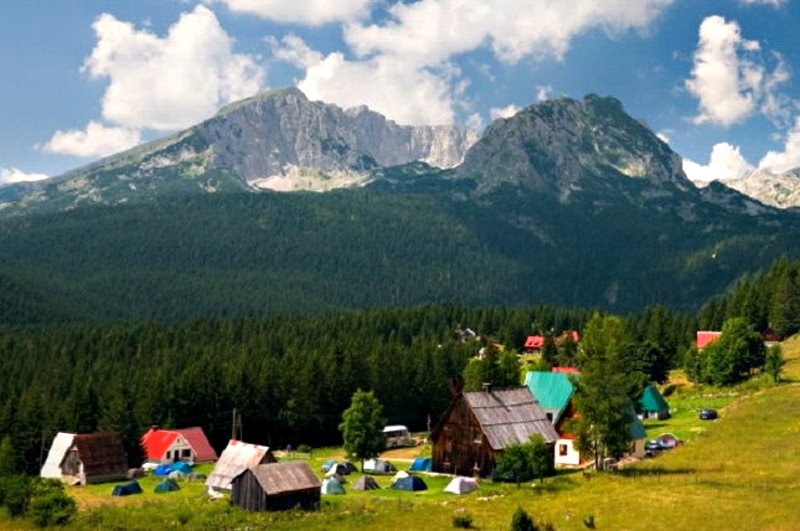 Countryside on Durmitor Mountain