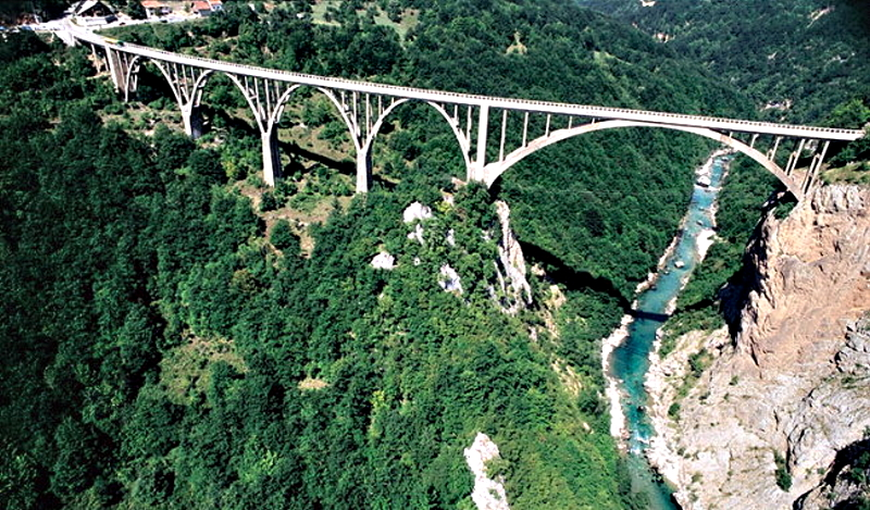 Tara River Bridge (Đurđevića Tara Bridge)