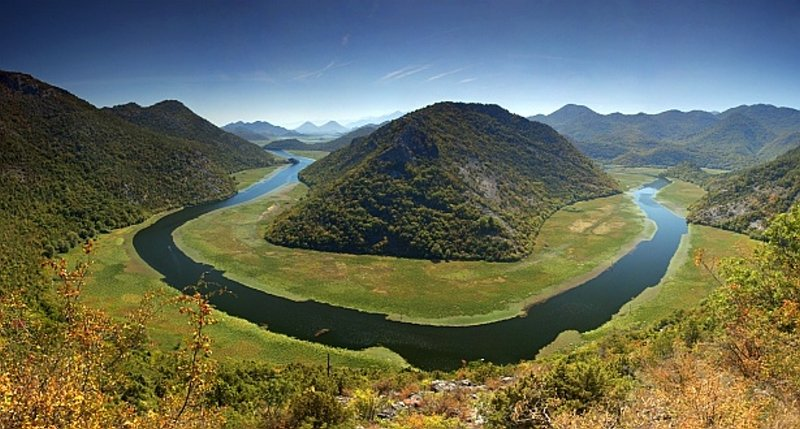 River of Crnojević, one of most famous pictures of Montenegro
